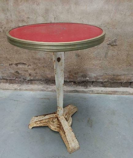 Oud Art deco tafeltje bistrotafel (1)