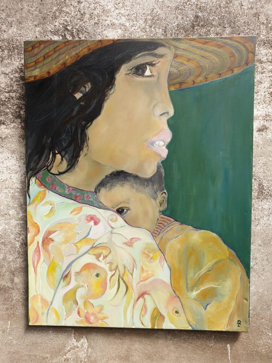 Vrouw met kindje (1)