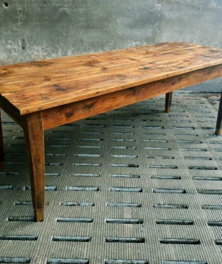 Antique table French dining table 78 x 200 cm pine / oak