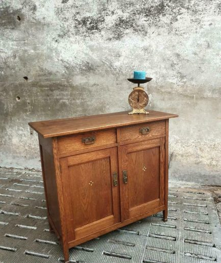 Antiek dressoir eiken Art Deco sidetable of ladekast (1)