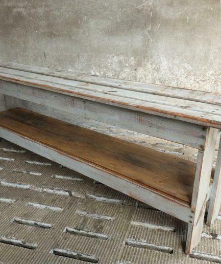 Oude sidetable Frans tv meubel 40 x 200 cm (1)